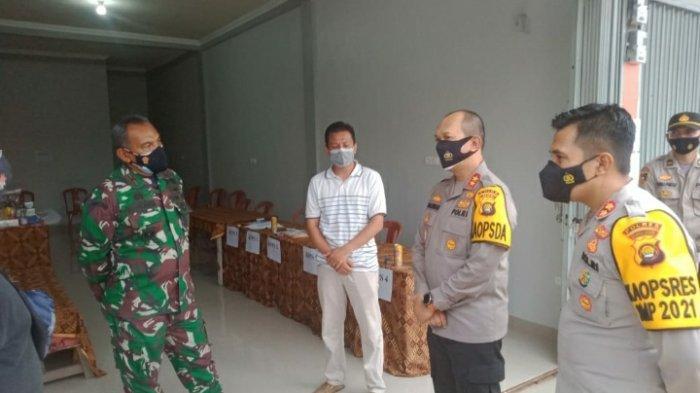 Tinjau TPS di Muaro Jambi Kapolda Pastikan Petugas KPPS Swab Antigen