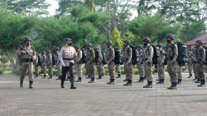 150 Personel Brimob Polda Jambi Dikirim ke Poso Hadapi Kelompok Radikal dan Pengamanan