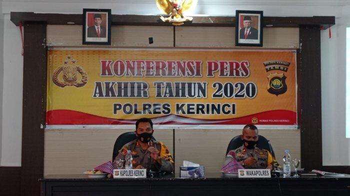 2020 Polres Kerinci Kembalikan Kerugian Negara Rp1,3 M. Tujuh Kades Kembalikan Penyimpangan DD