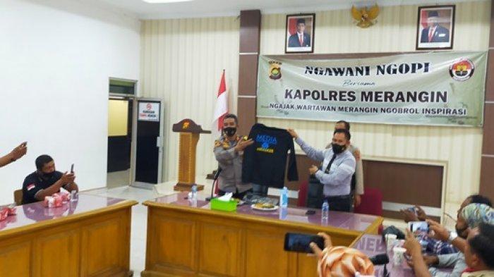 Ngawani Ngopi, Kapolres Ucapkan Terima Kasih Kepada Wartawan
