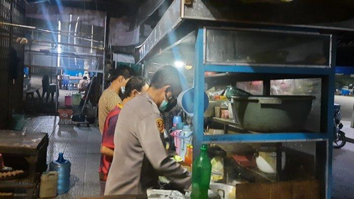 Kapolres Merangin Borong Nasi Goreng, Diberikan Buat Pasien Covid-19 Yang Menjalani Isolasi Mandiri