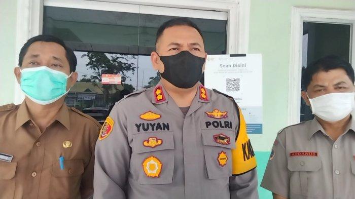 Kasus Covid-19 di Muarojambi Turun Drastis, Kapolres Imbau Jangan Lengah