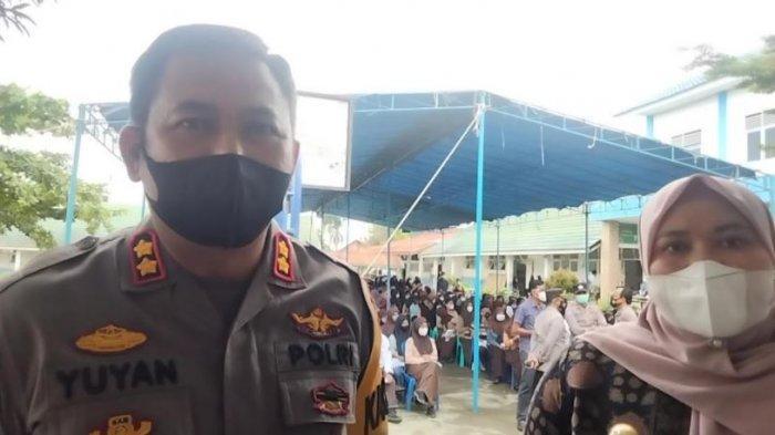 Kabupaten Muarojambi Masih PPKM Level 3, Polres dan Pemkab Terus Gencarkan Vaksinasi