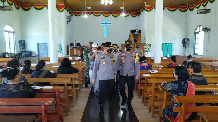 Pastikan Perayaan Paskah Aman, Kapolres Monitoring Tempat-tempat Ibadah di Sarolangun