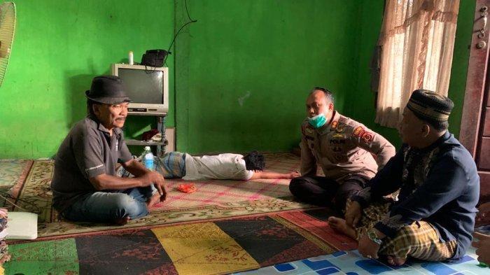 Kapolres Datangi Rumah Pemuda yang Nekat Naik ke Atas Kubah Masjid, Orangtua Sebut Anaknya Berubah
