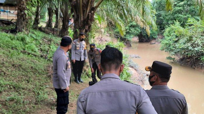Air Sungai Keruh Akibat PETI, Warga Desa Punti Kalo Dapat Bantuan Sumur Bor dari Kapolres Tebo