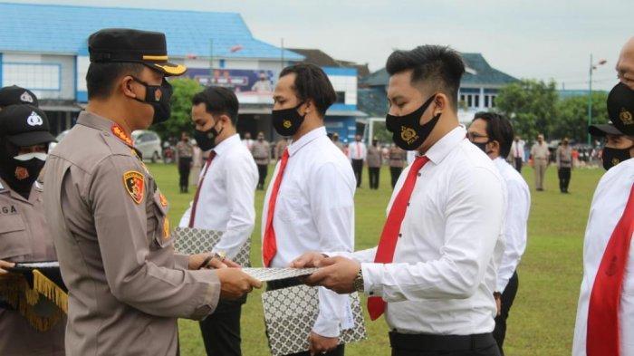 Sukses Ungkap Jaringan Ganja dan Ekstasi, 15 Personel Satresnarkoba Polresta Jambi Dapat Penghargaan