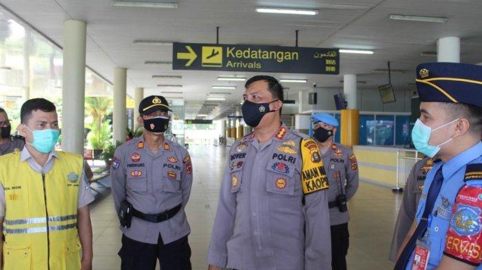Kapolresta Cek PPKM di Bandara, PengantarDiimbau Langsung Pulang Usai Antar Penumpang