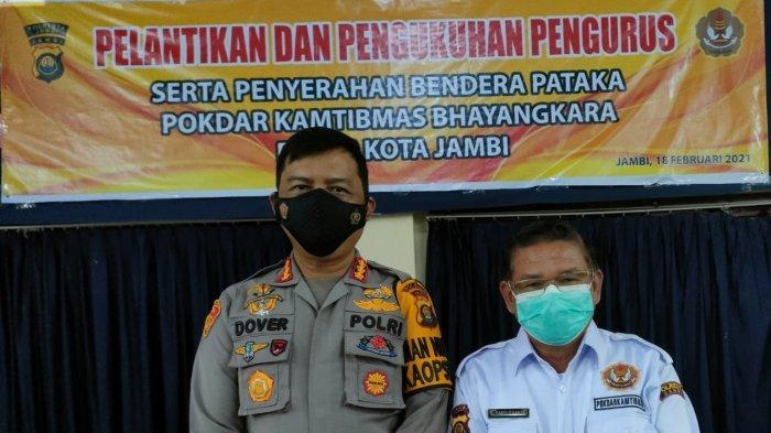 Pokdar Kambtibmas Resor Kota Jambi akan Membantu Menjaga Keamanan dan Ketertiban
