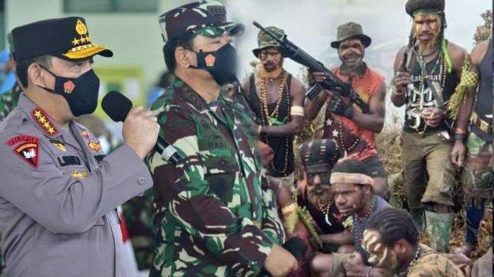 TEROR KKB Makin Mengganas Buat Kapolri & Panglima TNI Terjun ke Papua Beri Strategi Berantas KKB