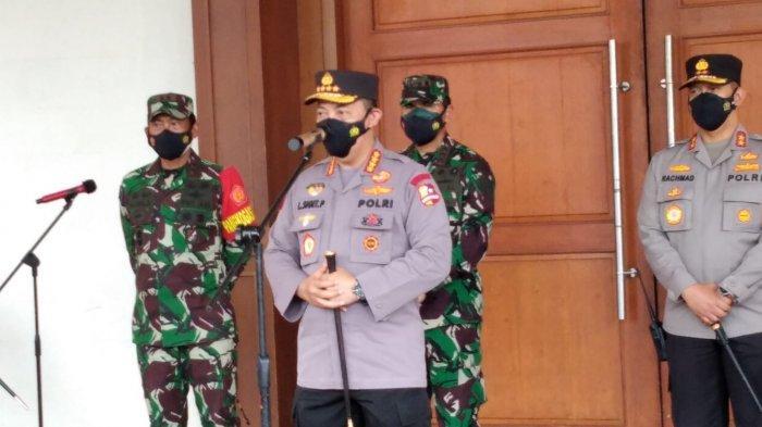 Kapolri Apresiasi Jambi Peringkat 6 Nasional dan Peringkat 2 Luar Jawa-Bali Penyaluran Vaksin