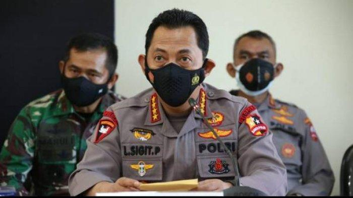 Jenderal Sigit Ingatkan Polisi Jangan Reaktif Saat Amankan Kunjungan Presiden Jokowi