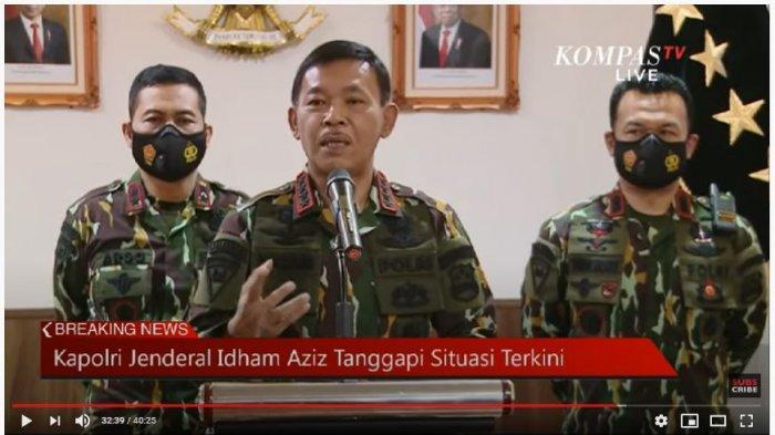 TEGAS! Kapolri Jenderal Idham Azis: Kerumunan Massa Resahkan Masyarakat