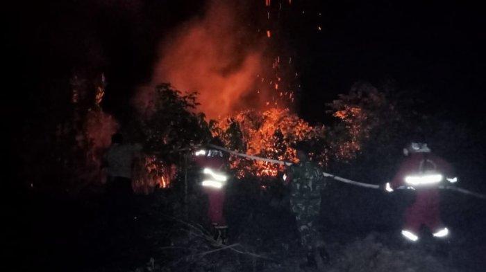 Polisi Usut Kasus Kebakaran di Lahan Yang Baru Saja Digarap Pemiliknya di Muara Bulian