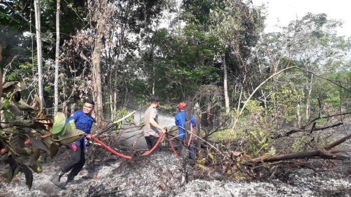 Sepekan Terakhir Terpantau 20 Titik Api, Status Siaga Darurat Karhutla di Sarolangun Diberlakukan