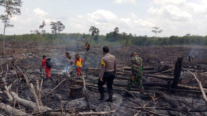 Karhutla di Sarolangun 43 Kali Terjadi, Dandim Sebut 84 Titik Api di 22,75 Hektare Selama Agustus