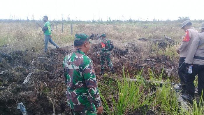 Tim Patroli Karhutla TNBS Masih Temukan Warga Membuka Lahan dengan Membakar