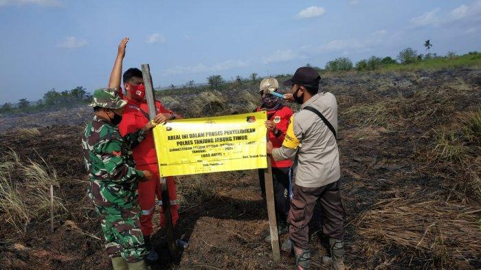 April dan Mei, BPBD Tanjab Timur Kondisi Siaga Pencegahan Karhutla