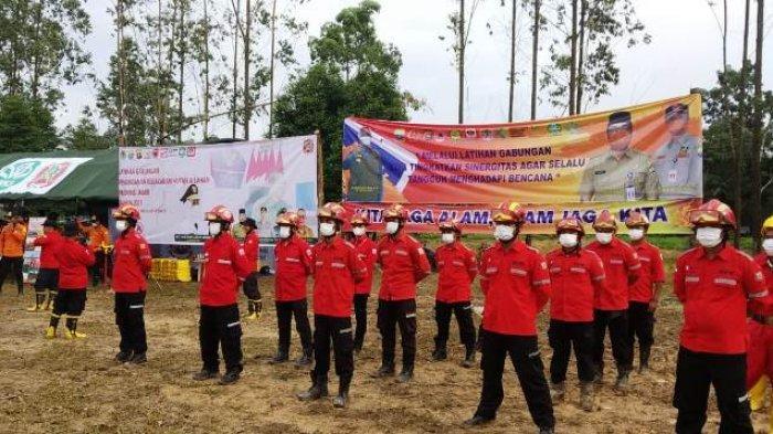 Menguji Fungsi Koordinasi Antar Unit, Pemprov Jambi Menggelar Latihan Gabungan Penanganan Karhutla