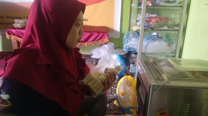 UMKM Jambi, Pempek Hafish Sebulan Laku 70 ribu, Pelanggan Terbanyaknya Justru di Pulau Jawa