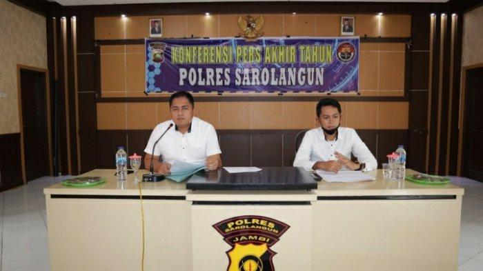 Polres Sarolangun 2021 akan Ungkap Nilai Satu Milyar Lebih Kasus Korupsi di Sarolangun