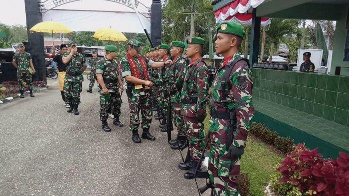 Gelar Syukuran, 40 Personel Kodim 0420/Sarko Naik Pangkat, Berikut Nama-nama Personelnya