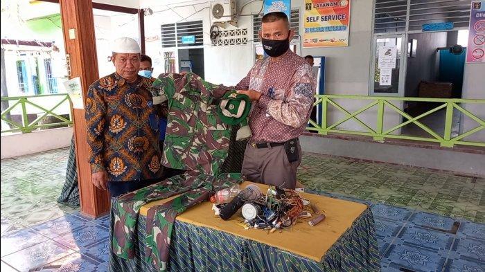 BREAKING NEWS Saat Razia Rutin, Petugas Lapas Tebo Dapati Atribut Lengkap TNI Milik Warga Binaan