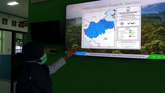 BMKG Sebut Dua Puncak Musim Hujan Terjadi di Jambi, Masyarakat Diimbau Waspada