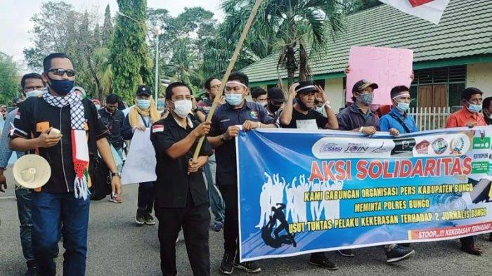 Kasus Pengeroyokan Wartawan di Bungo, PWB Bakal Kawal Hingga ke Persidangan
