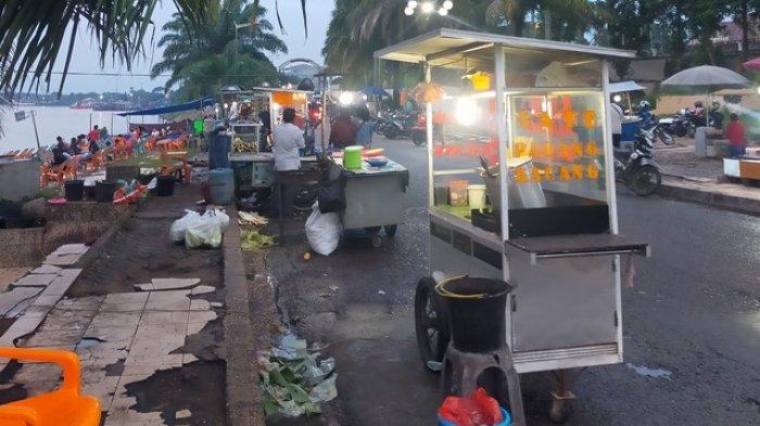 Senangnya Pedagang di Ancol Kota Jambi Kini Sudah Bebas Berjualan, Tak Lagi Dibatasi Jam Malam