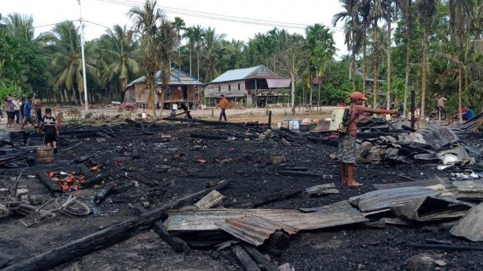 Kembali Sadu Ditimpa Musibah Kebakaran, Belum Diketahui Berapa Jumlah Rumah Menjadi Korban