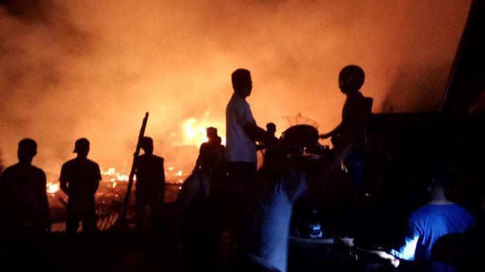 Kebakaran di Lorong Kalimantan Muara Sabak Ulu, Tim Forensik Dilibatkan untuk Penyelidikan