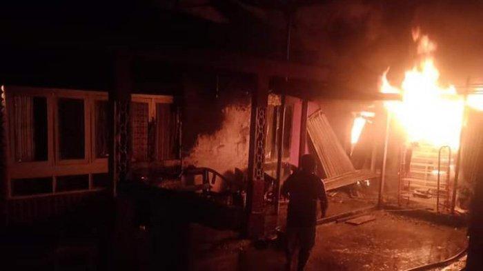 BREAKING NEWS Kebakaran di Merangin Tewaskan Kakek Nurdin, Si Jago Lalap satu Unit Rumah