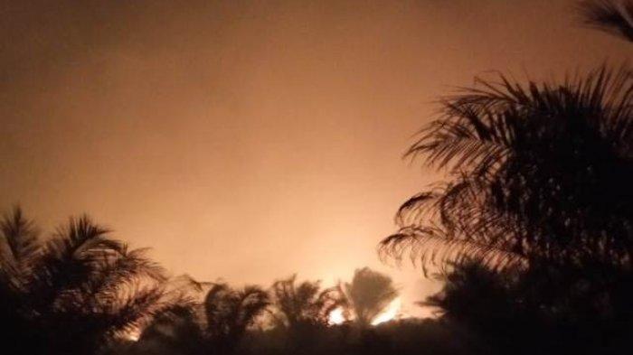 BREAKING NEWS: Kabut Asap Kembali Menebal, Titik Api Masih Membara di Kumpeh Jambi