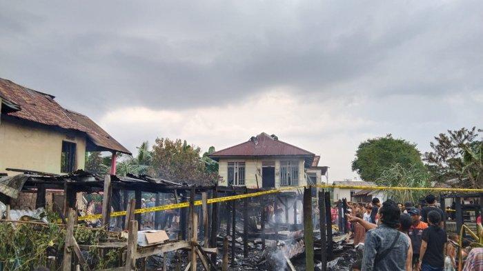 4 Rumah di Kota Jambi Habis Dilalap Si Jago Merah, Ketua RT Sebut Penyebabnya