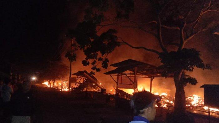 Kebakaran di Kerinci, Tiga Unit Rumah di Semurup Ludes Terbakar