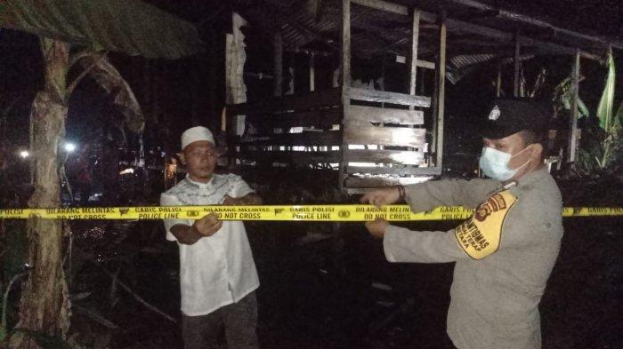 Kebakaran di Tanjabbar, Bara Api Bekas Hangatkan Lauk Hanguskan Satu Rumah di Betara