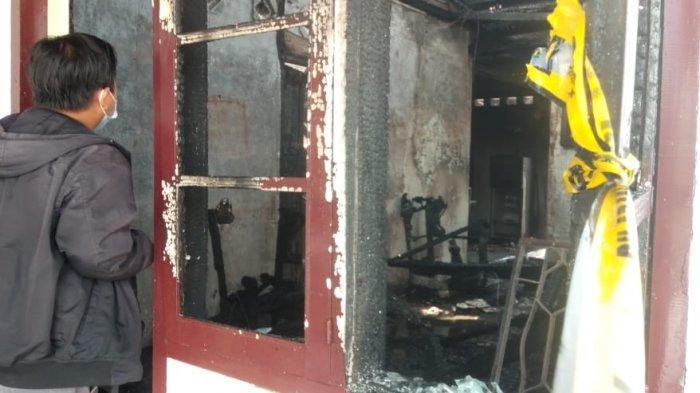 Kebakaran di Danau Sipin Kota Jambi, Rumah Quran Center Ludes Dilalap Api