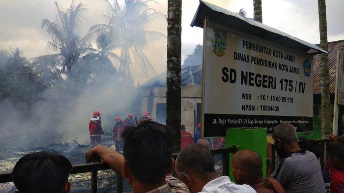 Kebakaran di SDN 175.