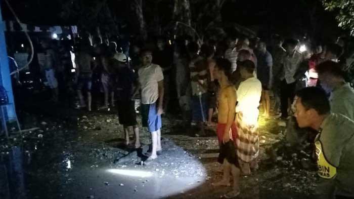 Kebakaran di CNG Sarolangun, Mobil Damkar Tak Bisa Masuk, Empat Rumah Dilalap Api