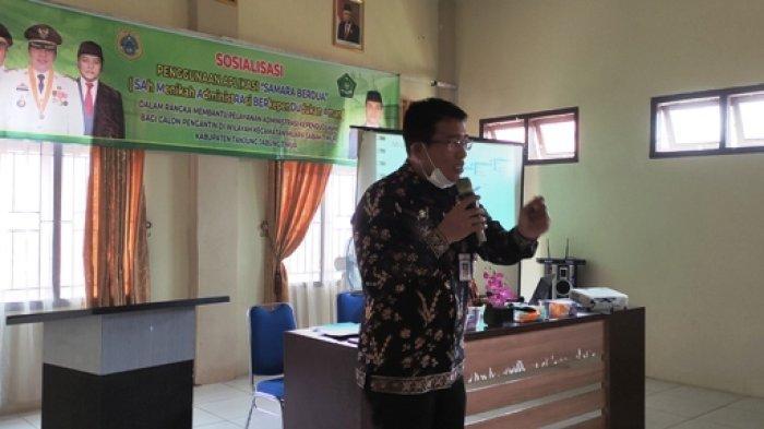 Kecamatan Muara Sabak Timur Tanjabtim Perkenalkan Aplikasi Samara Berdua