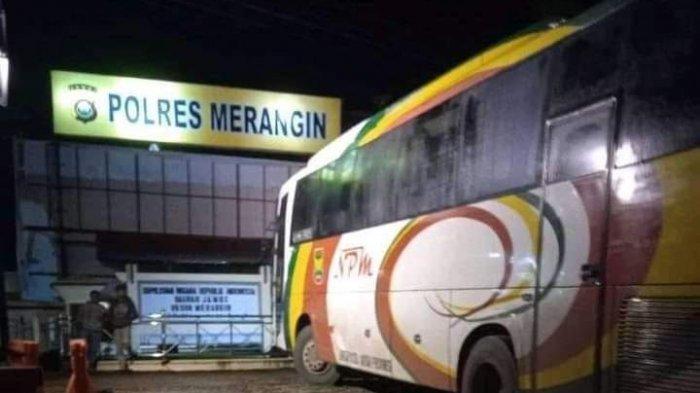 Kecelakaan di Merangin, Ibu dan Anak Jadi Korban Ditabrak Bus Lintas Sumatera Tewas di Tempat