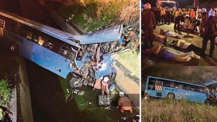 Kecelakaan Bus di Cina Tewaskan 21 Penumpang, Sebagian Korban adalah Calon Peserta Ujian Masuk PT