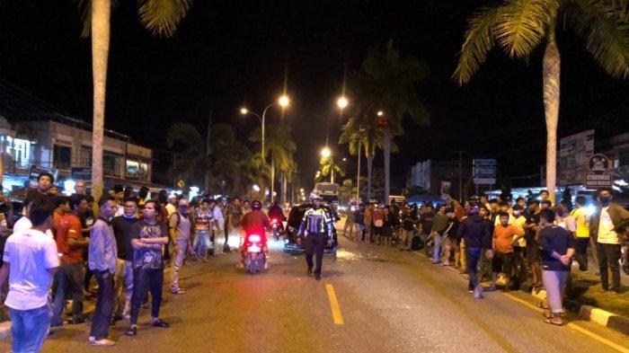 Kecelakaan Maut di Jalan Lintas Sumatera Merangin, Satu Mahasiswa Meninggal di Tempat Kejadian