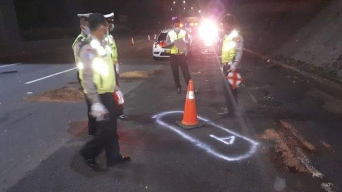 Kecelakaan Maut Adu Kambing Truk Tronton Vs Motor Suzuki Satria, 4 Orang Tewas