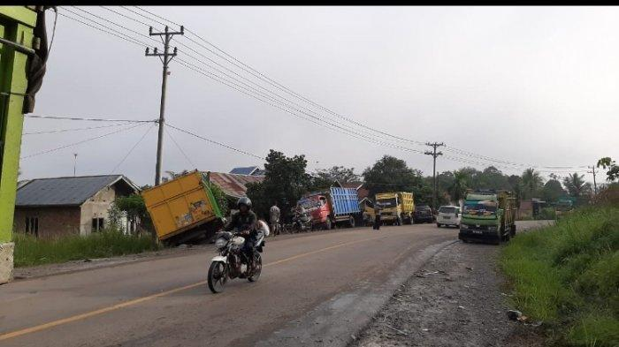Kecelakaan Maut di Desa Sungai Buluh Batanghari, Pengemudi Ran Light Truk Tewas
