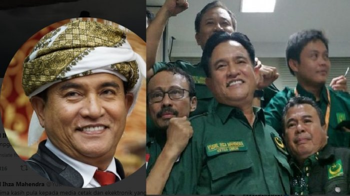 Yusril Ihza Mahendra jadi Pengacara Pasangan Capres Jokowi-Ma'ruf Amin