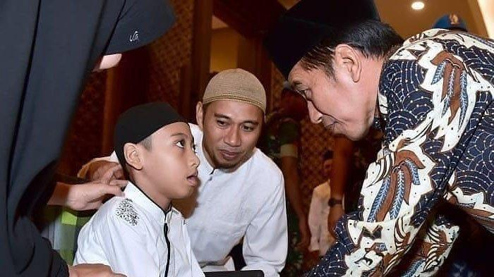 Momen Haru Saat Naja 'Hafiz Indonesia' Bacakan Ayat Suci Al Quran di Depan Presiden Joko Widodo