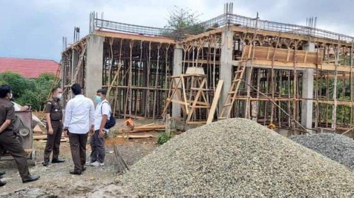 Kejari Tebo Pantau Proyek Pembangunan RSUD STS Tebo Senilai Rp36 Miliar