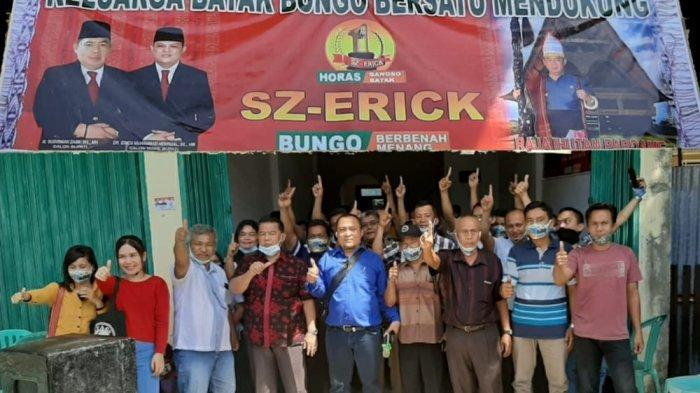 Keluarga Besar Batak Bungo Bersatu Siap Hantarkan SZ-Erick Jadi Bupati dan Wakil Bupati Bungo